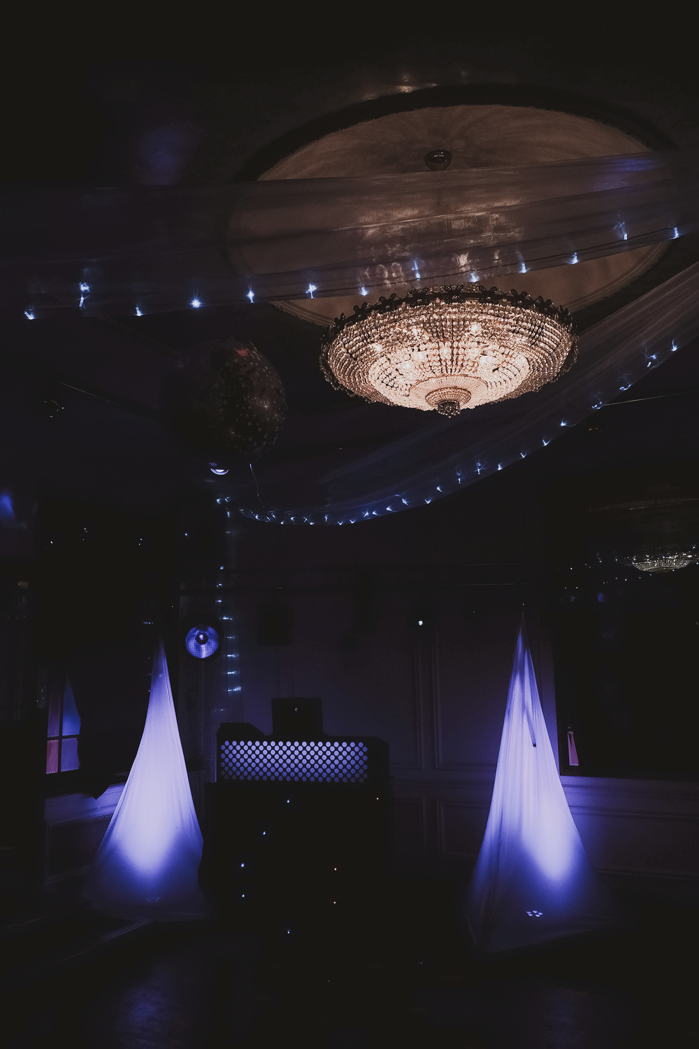 Newcastle Wedding Venue // The Caledonian Hotel // DJ & Dancefloor