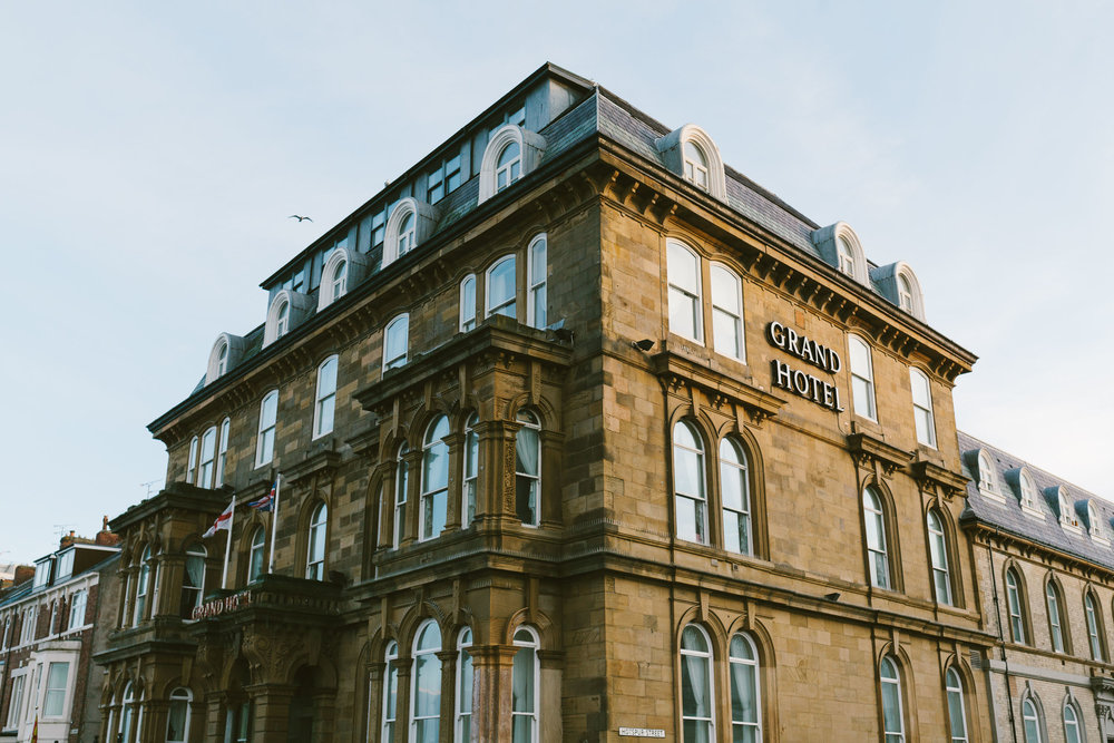 Exterior of the Grand Hotel Newcastle wedding venue