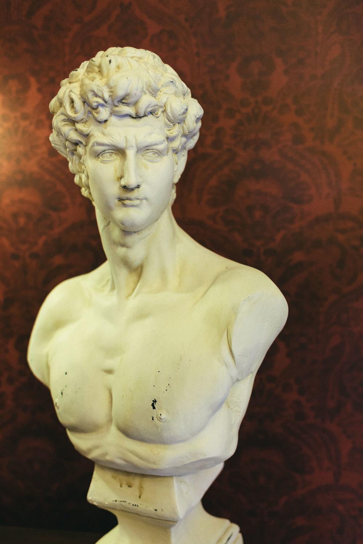 Bust in Sun Hotel Northumberland