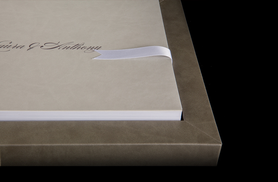 Luxury Wedding Album - £600 - - Luxury Young Book wedding album, handmade in Italy- Fully customisable presentation box and cover- Parent albums (smaller copies of the main album) are available for £300