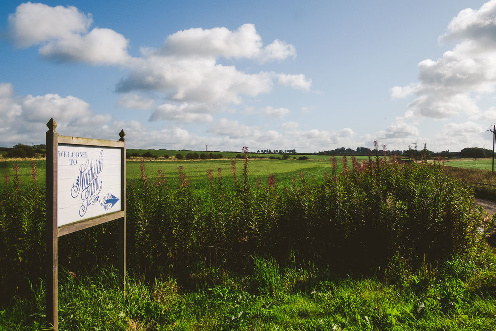 Only 20 minutes from Newcastle along the A69, Northside Farm wedding venue could be in the middle of nowhere.