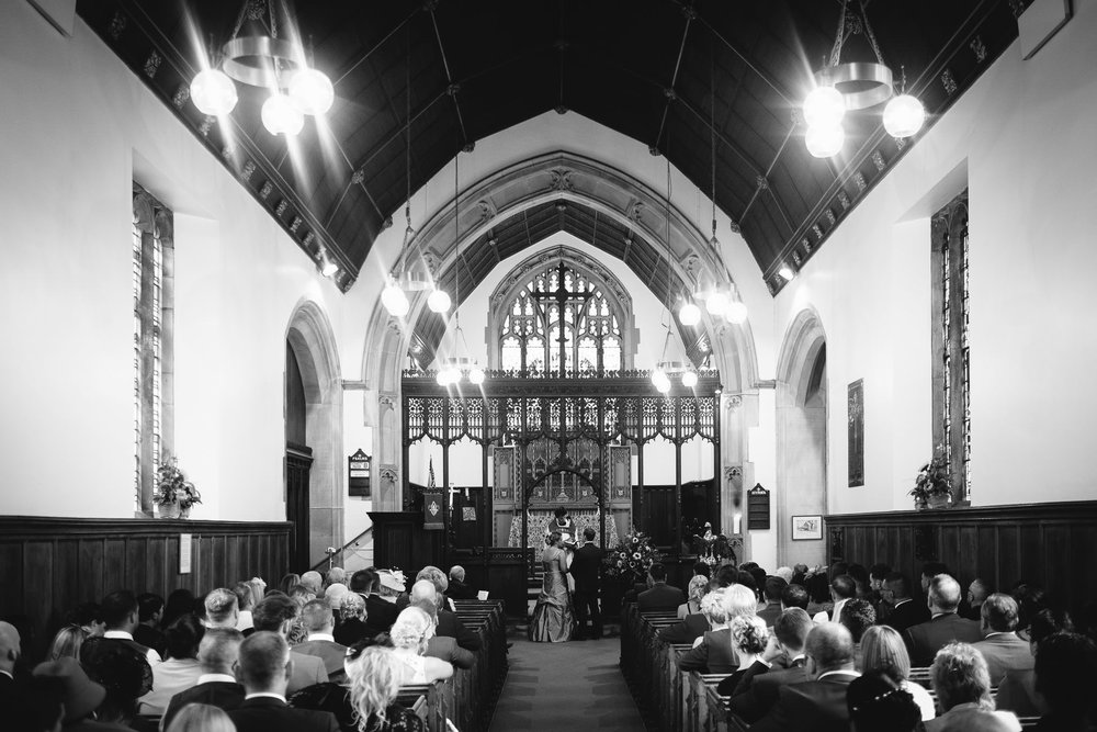 St Oswin's Church at Wylam was the perfect location for Emma and Paul's wedding