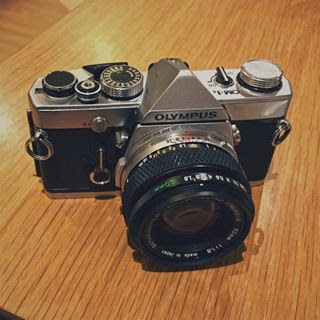 The Olympus OM1n with 50mm F1.8
