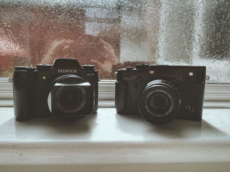 Fujifilm X-T1 and X-Pro2