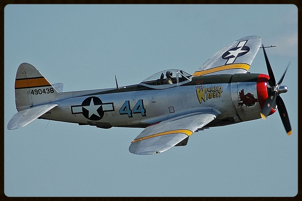 "Republic P-47D ""Wicked Rabbit"" owned by John Shoffner"