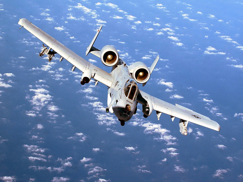 "A-10 ""Warthog"". Image by U.S. Air Force"