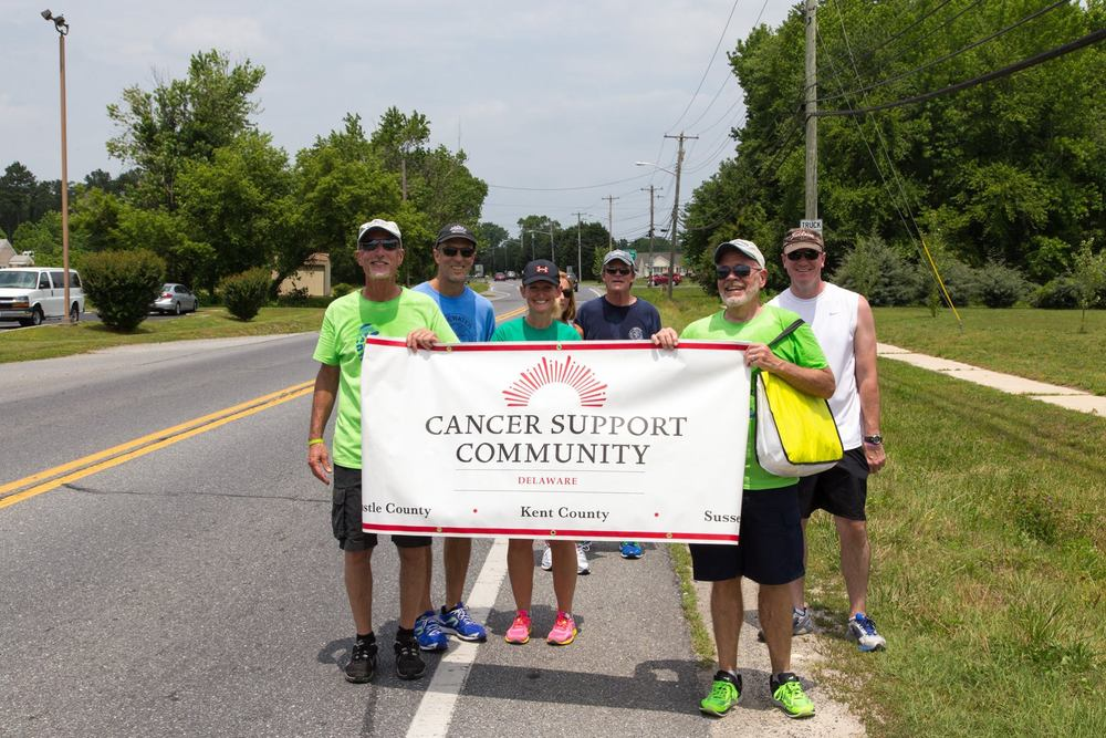 "Survivors Across Sussex: A 16 Mile Relay was a wonderful event we participated in, in June 2015.  Read the press release below by ""The Cancer Support Community Delaware,"" to learn more about this event!"