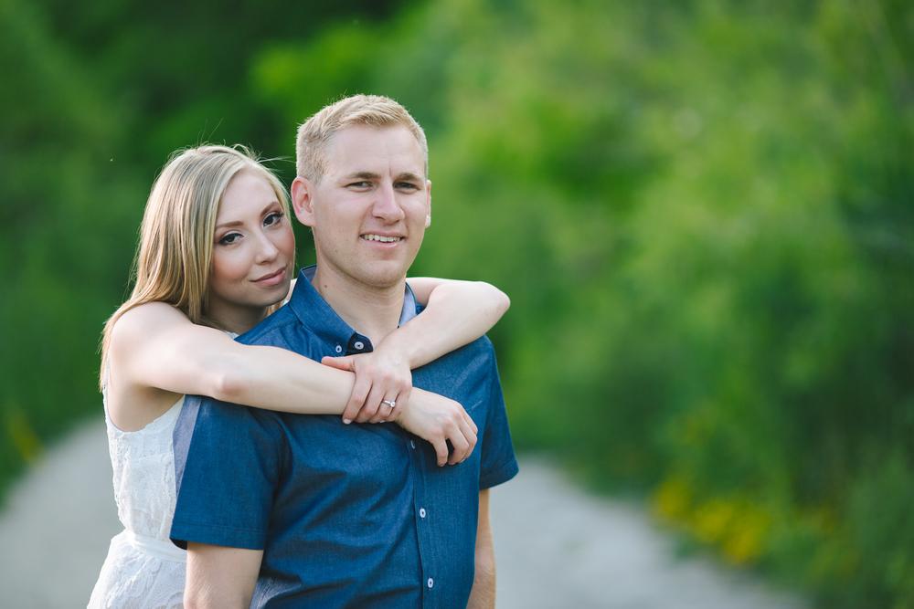 bluffs wedding engagement photographer