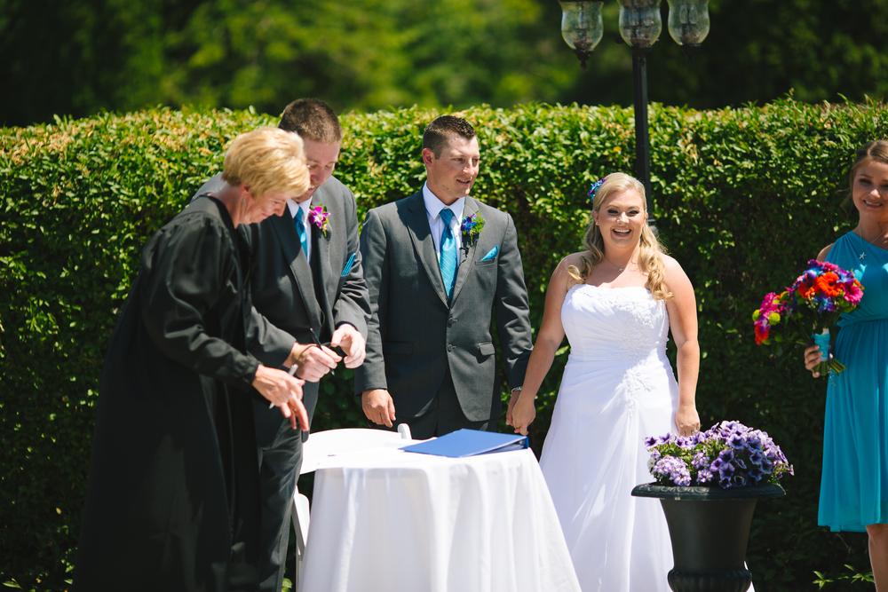 Bowmanville wedding photographer