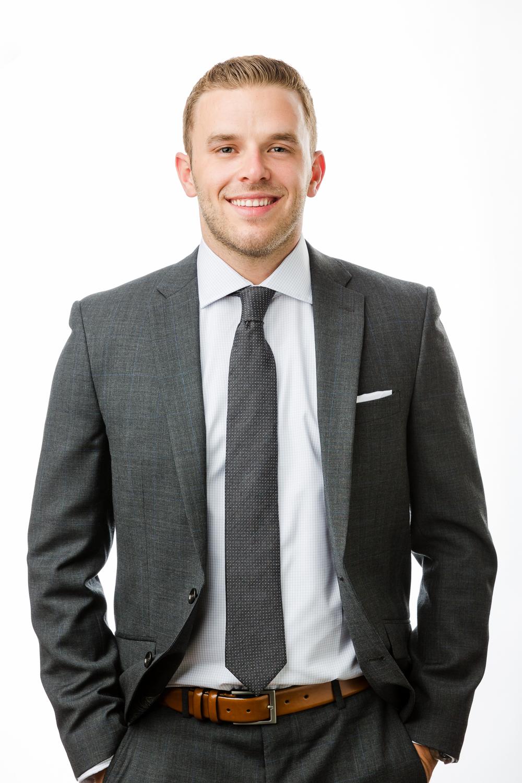 Durham business head shot