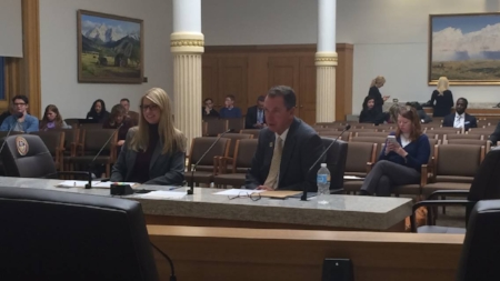 Thanks to co-prime sponsor Brittany Peterson on HB1181