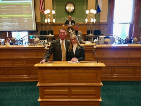 Thanks to co-prime sponsor, Brittany Petterson.  Click to see Rep Lundeen speak on HB1181