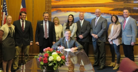 HB1040 is signed into law by Governor Hickenlooper