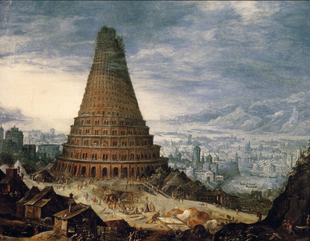 Del Origen De Las Palabras La Torre De Babel Martha Robles