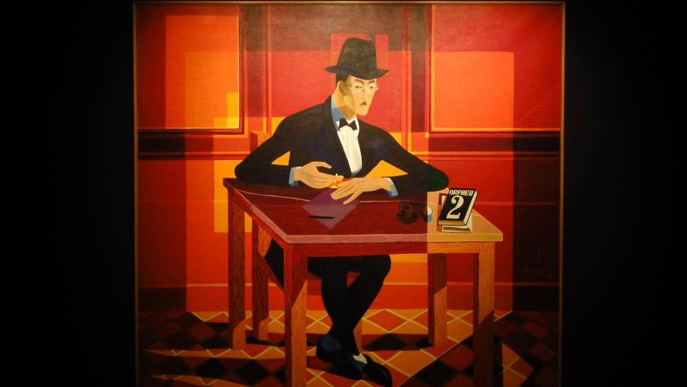 """""""Retrato de Fernando Pessoa"""" José de Almada Negrerios (1893-1970)"""