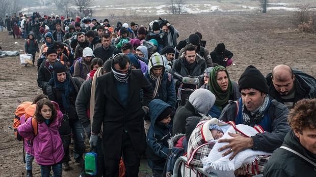Víctimas del mal.El invierno de los refugiados, abc.es