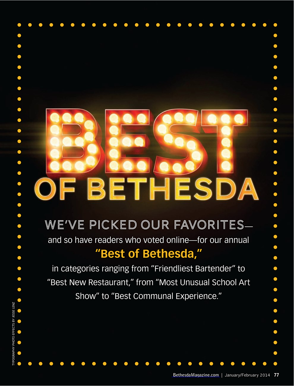 Best of Bethesda award