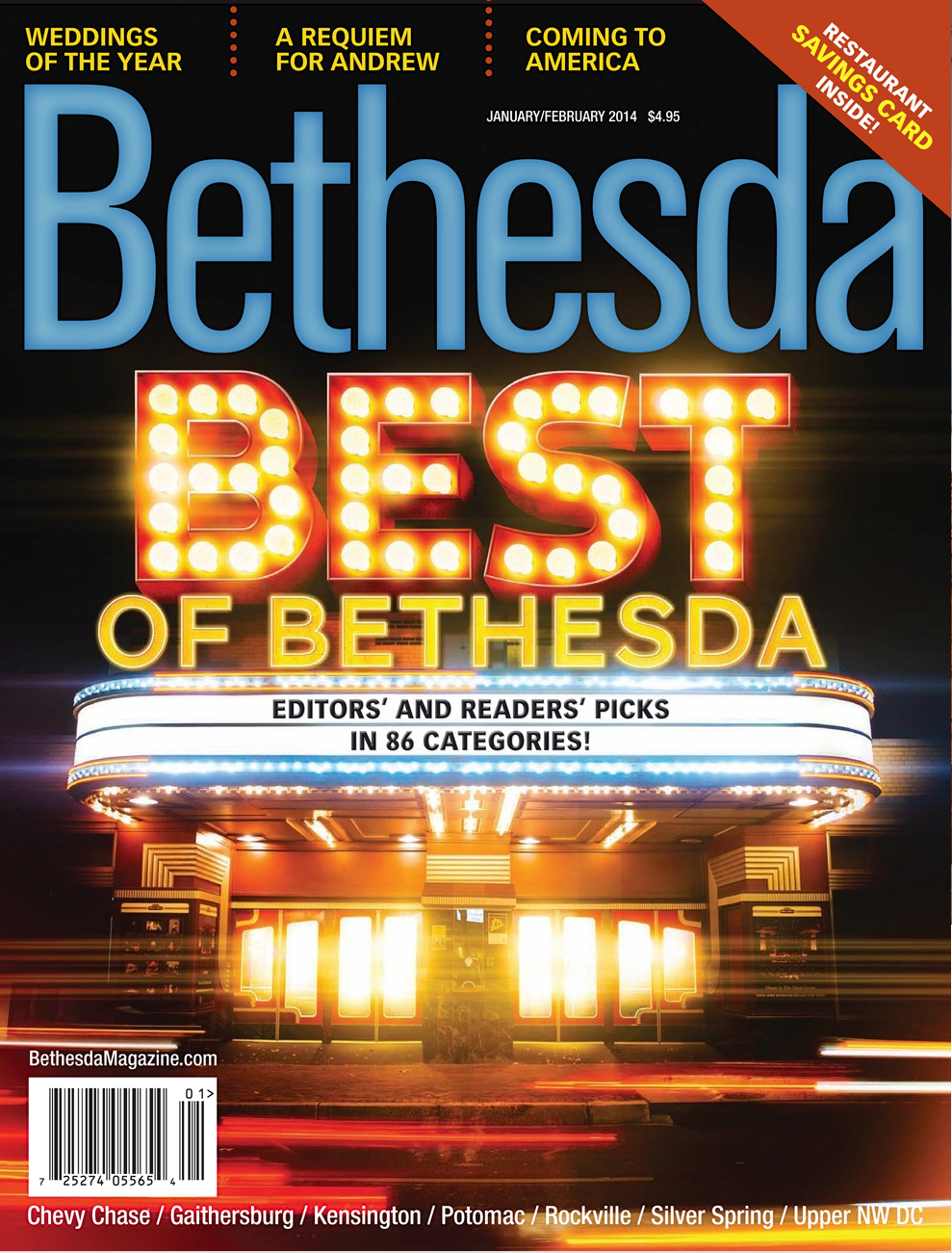 Bethesda Magazine 2014 Jan/Feb Cover