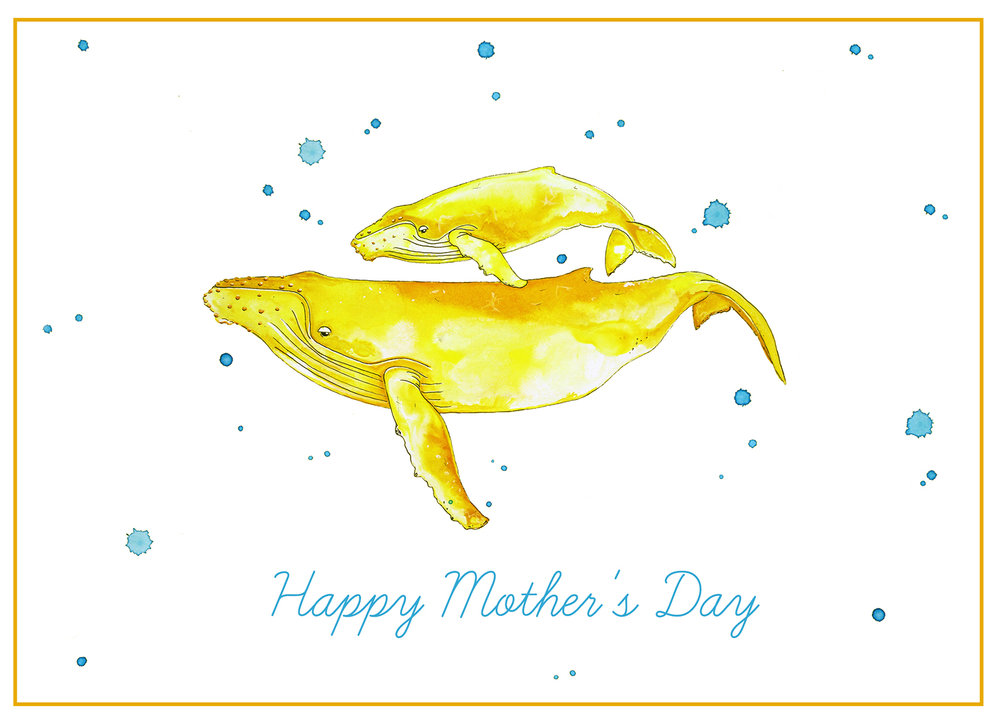 Yellowhale painting by  nanacnese