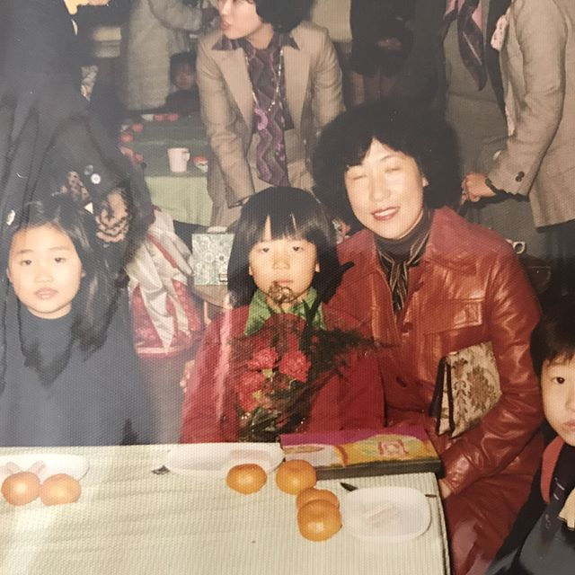 with mom (kindergarten)