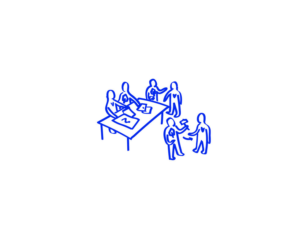 5. OUTILLER LES ACADÉMICIEN.NES   Basée sur une approche fondamentalement ouverte et inclusive, l'académie mise sur un apprentissage progressif où, semaine après semaine, de nouvelles compétences sont développées dans le but d'amplifier le potentiel du projet citoyen.