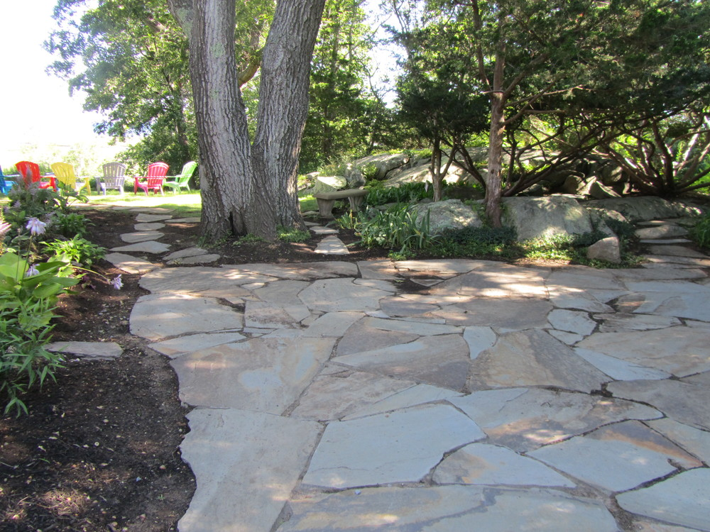 Patio installation. Scituate, MA