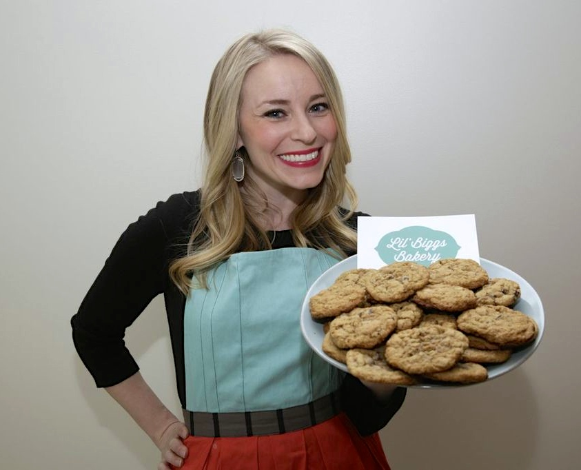 Founder of Lil' Biggs Bakery, Kristin Biggs