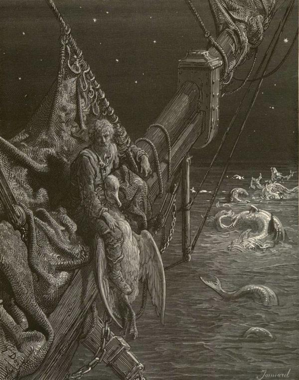 I Watched the Water Snakes  (from 'The Rime of the Ancient Mariner')