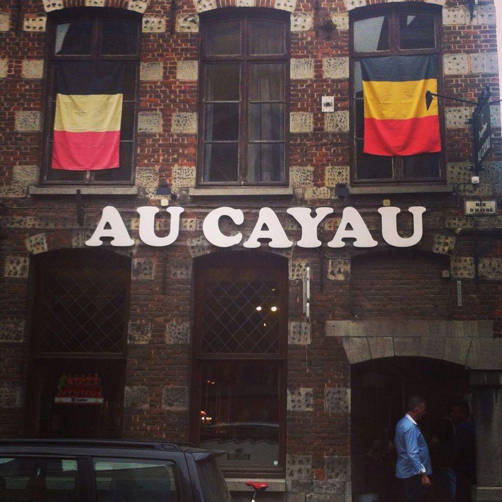 Bar in Mons, Belgium