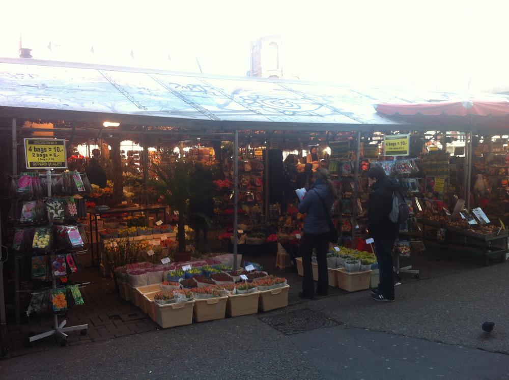 Amsterdam's flower market