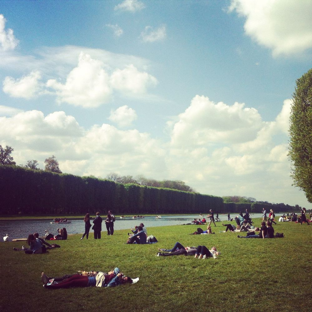 Parklife at the Gardens of Versailles.