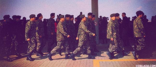 South Korean military at the Dora Observatory (©Deborah Clague/Oblada.com)