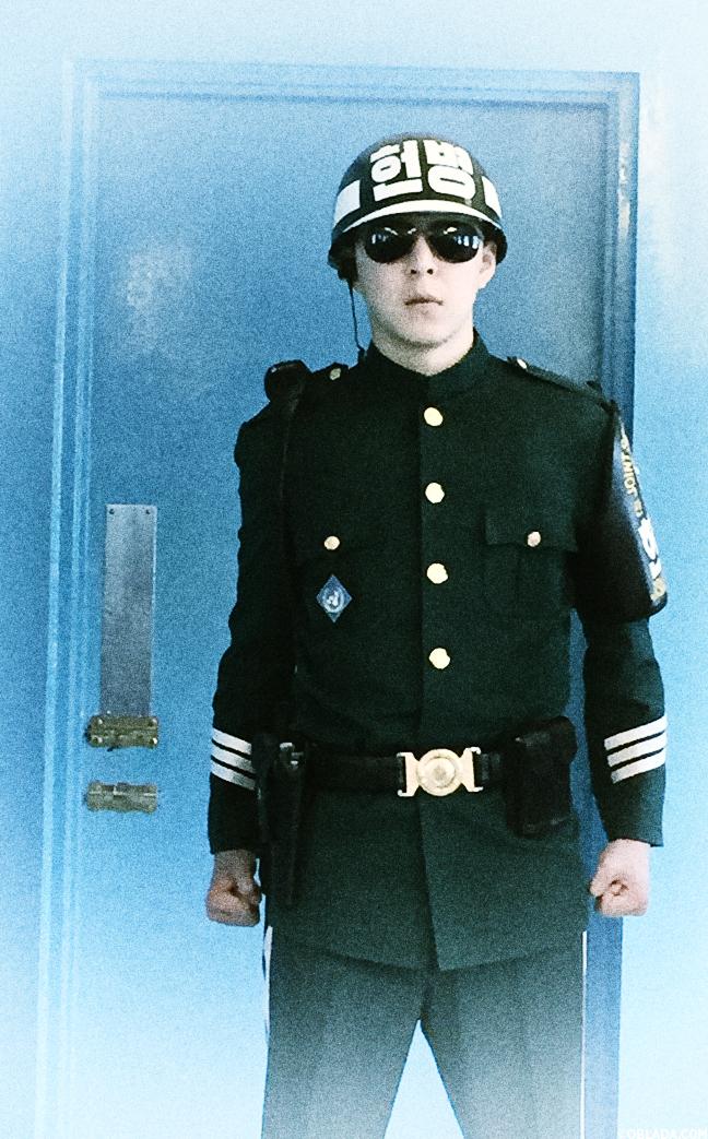 South Korean soldier at the JSA (©Deborah Clague/Oblada.com)