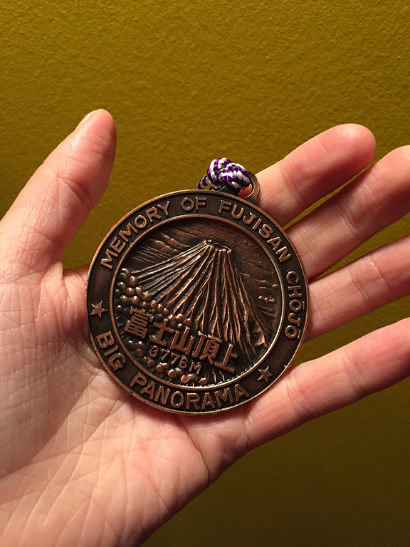 The medal I received from Alaska (©Deborah Clague)