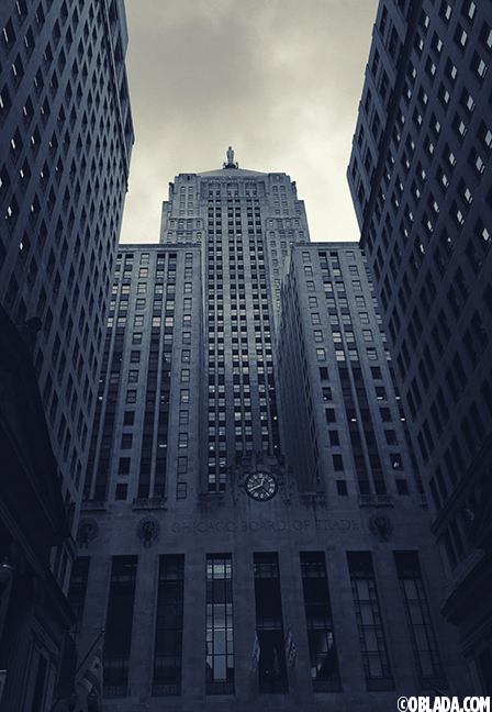 Chicago Board of Trade building (©Deborah Clague/Oblada.com)