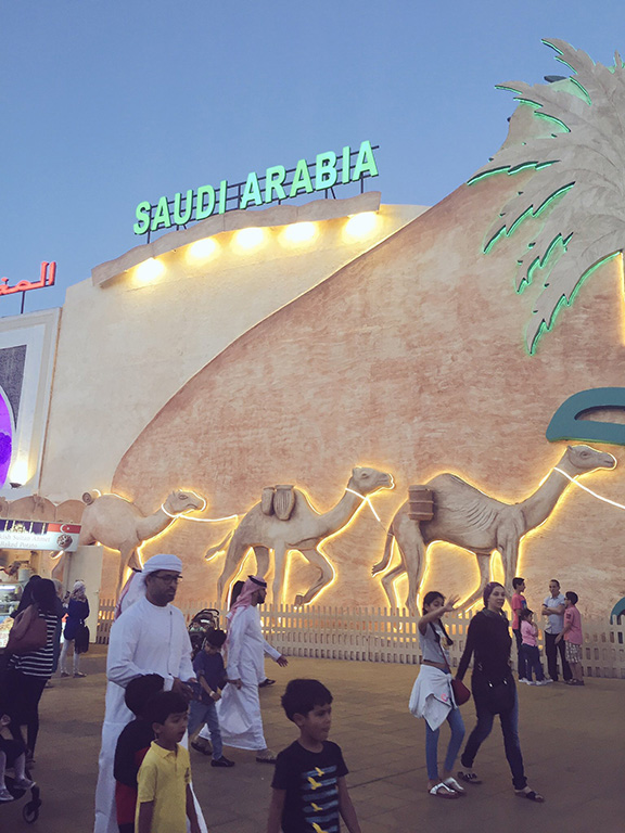 Saudi Arabia pavilion, Global Market (©Deborah Clague, 2016).