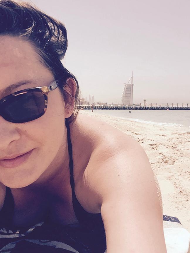 Jumeriah Beach, the Burj Al Arab in the background (©Deborah Clague, 2016).