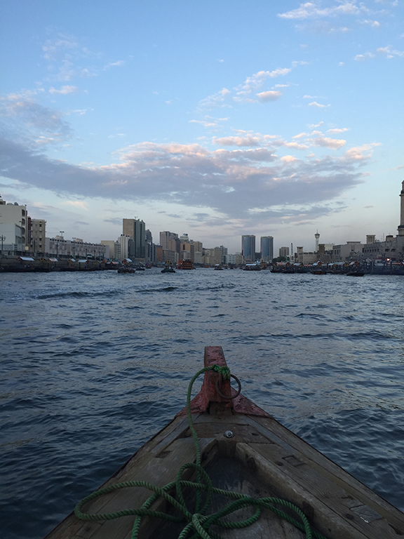 Dubai Creek (©Deborah Clague, 2016)