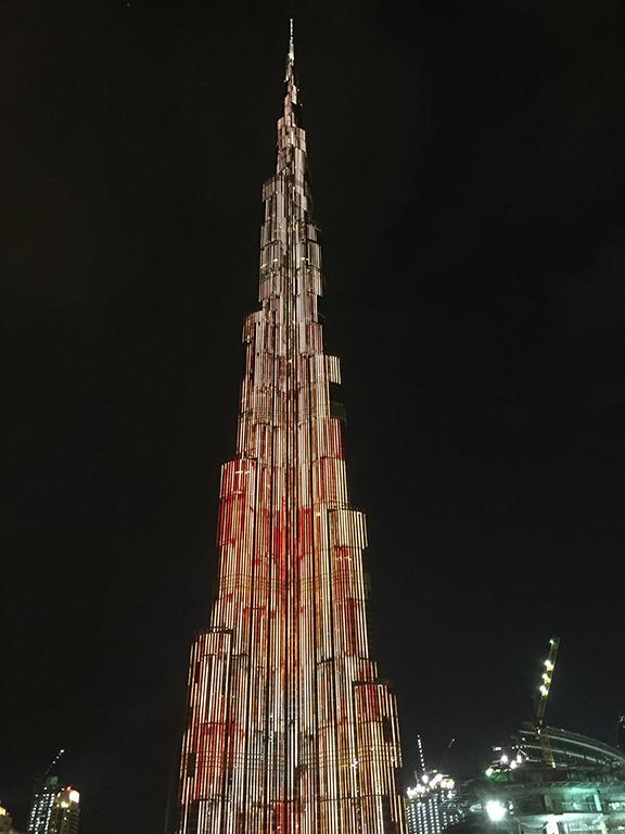 Burj Khalifa, Dubai (©Deborah Clague, 2016)