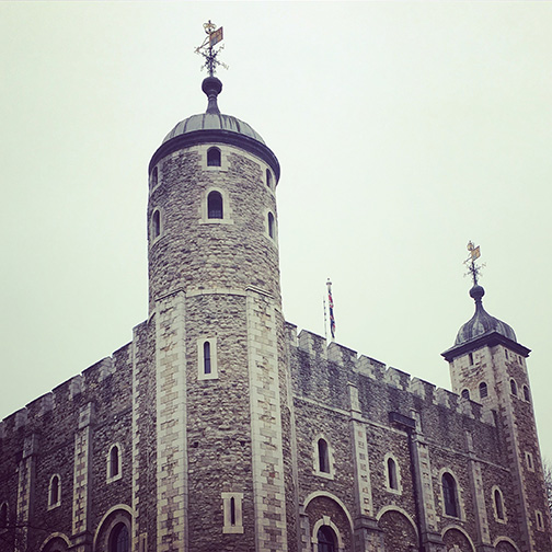 The White Tower, former palace and prison (©Deborah Clague)