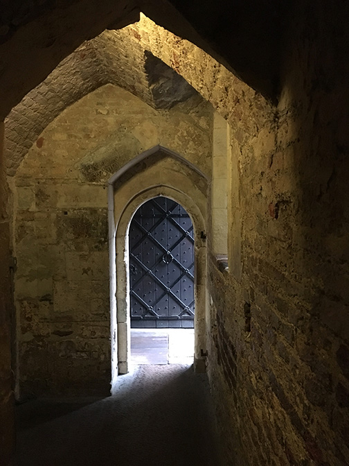 Interior hallway at the Tower of London (©Deborah Clague)