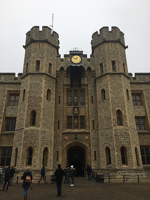 The Jewel House which houses the Crown Jewels (©Deborah Clague)