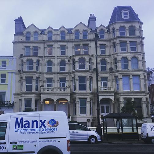 Victorian architecture lining Douglas Promenade, Isle of Man (©Deborah Clague)