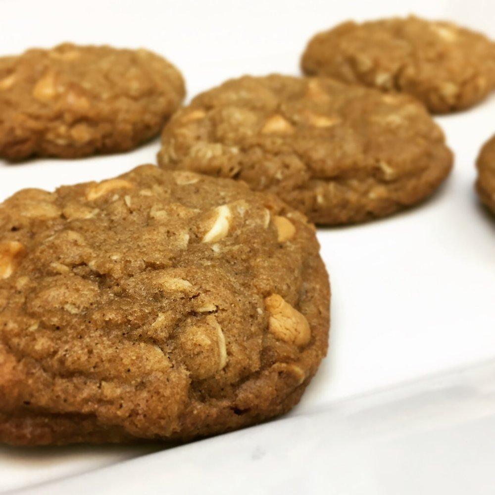 Brown Butter Butterscotch Oatmeal Cookies (©Deborah Clague)