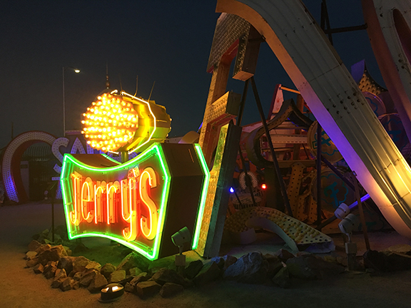 The Neon Museum, Las Vegas (©Deborah Clague, 2018).