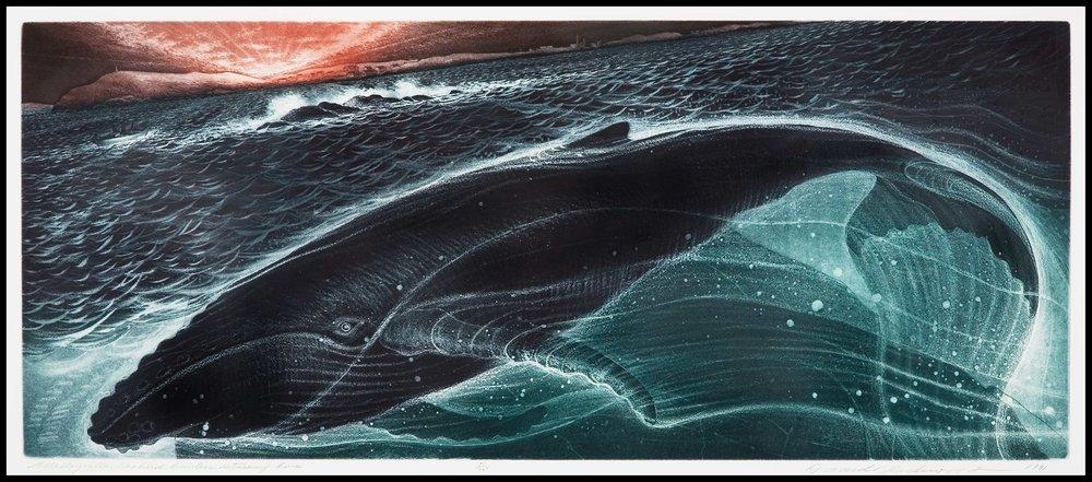 Wesleyville: Seabird Hunters Returning Home, David Blackwood (1991)