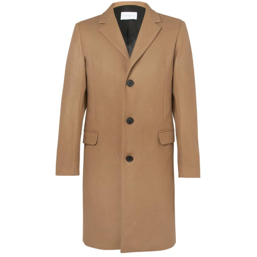 Sandro - Wool Blend Overcoat