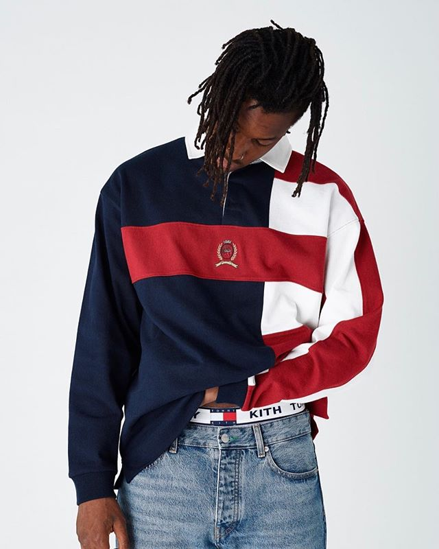 #Rebirth. The new @kith collaboration with @tommyhilfiger brings to life classic pieces from the legendary American label. What are you favorite pieces from the collection?