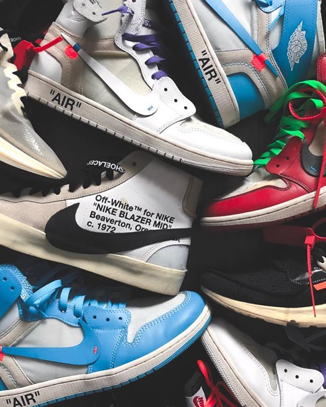 Take your pick... Sneakers: @off____white for @nike