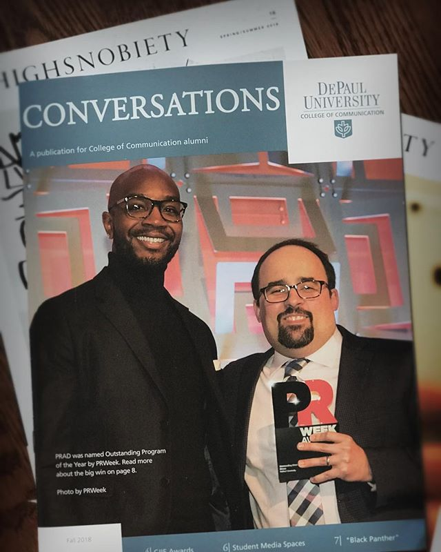 Coming to a coffee table near you 📸  @depaulu #Alumni